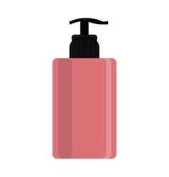 Cosmetic bottle icon vector