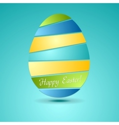 Egg abstract background Easter design vector image