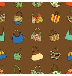 Collection design handbags vector