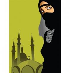 Arab woman vector