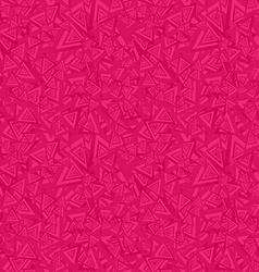 Red seamless triangle pattern background vector