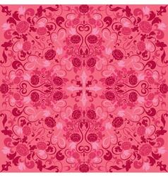 Seamless texture - vintage ornamental pattern vector image vector image