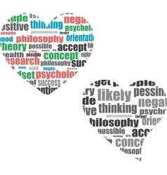 Text cloud social media wordcloud typography vector