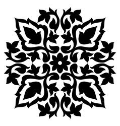 Antique ottoman turkish pattern design sixty seven vector