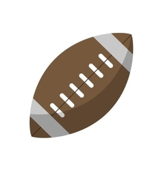 Ball american football sport vector