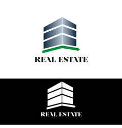 Real estate building vector image