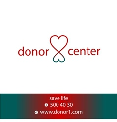 Donor center vector