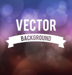 Bokeh effect with blur background collection vector