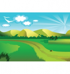Background nature vector