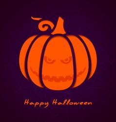 Halloween greeting card eps10 vector