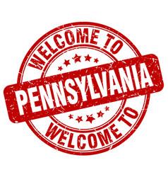 Welcome to pennsylvania vector