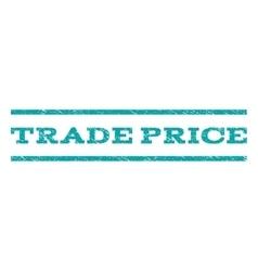 Trade price watermark stamp vector