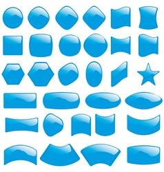 Bubble icons symbols vector
