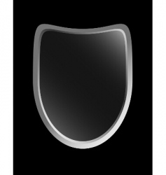 gradient shield vector image