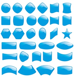 bubble icons symbols vector image vector image