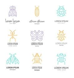 Bugs logo vector