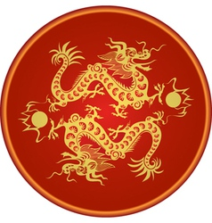 dragon chinese goroscop vector image