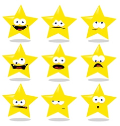Funny Star vector image