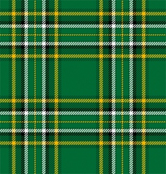 Irish National Tartan vector image vector image