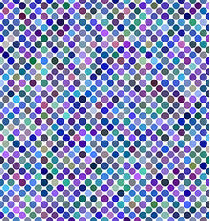 Multicolored abstract dot background design vector