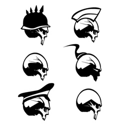 Skull Silhouette vector image vector image