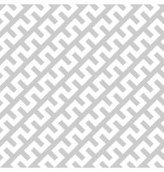 White zigzag lines in diagonal arrangement on grey vector