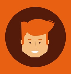Head man design vector