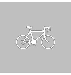 Bicycle icon computer symbol vector image vector image