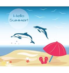 Summer Beach vector image vector image