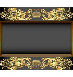 vintage background frame vector image vector image