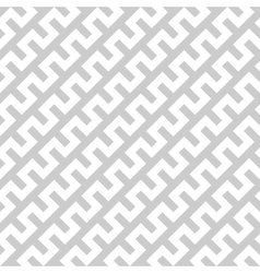 White zigzag lines in diagonal arrangement on grey vector