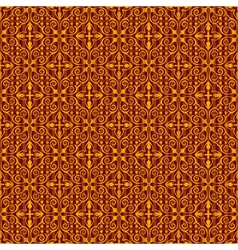Vintage seamless wallpaper background vector