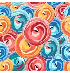Background abstract rose pattern vector