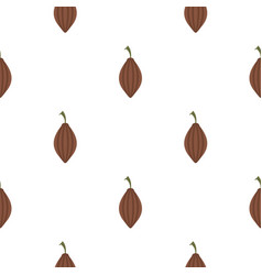Black cardamom pattern flat vector