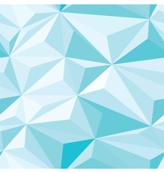 Blue crystals seamless pattern vector