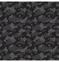 Pixel camo black vector
