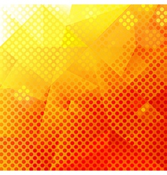 Abstract orange and yellow background vector