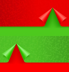 christmas background winter seamless pattern for vector image