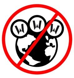 No internet sign vector