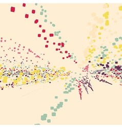 Explosion abstract dynamic background vector