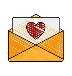 love letter vector image