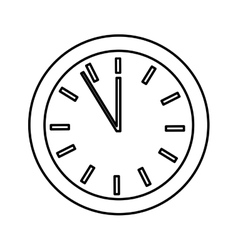 time clock watch isolated icon vector image