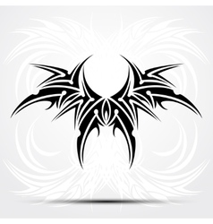 Sharp tribal tattoo vector