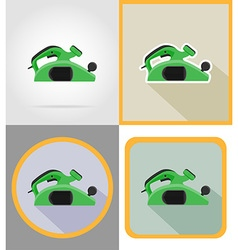 Electric repair tools flat icons 14 vector