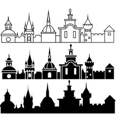 Medieval sity vector