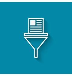Filter data symbol vector