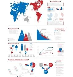 Infographic demographics 7 vector
