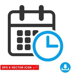 Timetable eps icon vector