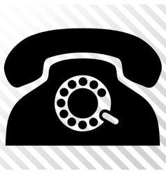 Pulse phone icon vector