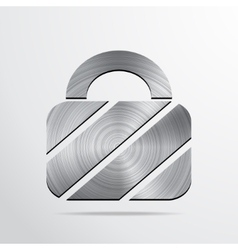Padlock web icon background vector